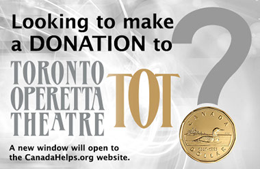 Looking to make a Donation to TOT? (A new window will open to the St. Lawrence Centre for the Atrs website.)
